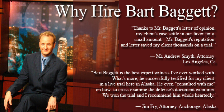 Why hire Bart